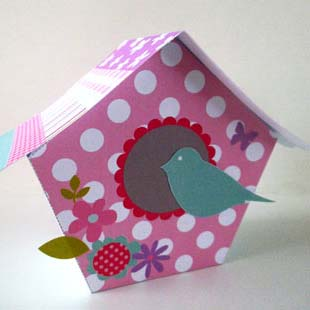 Mother's Day Bird House