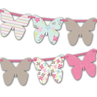 Mother's Day Butterfly Bunting