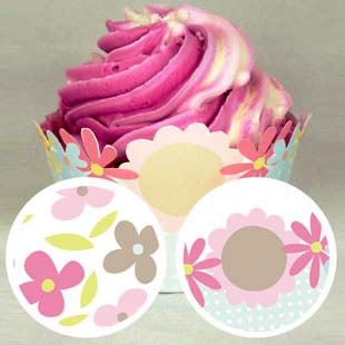 Mother's Day Cupcake Wrapper 1