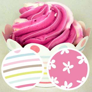 Mother's Day Cupcake Wrapper 2