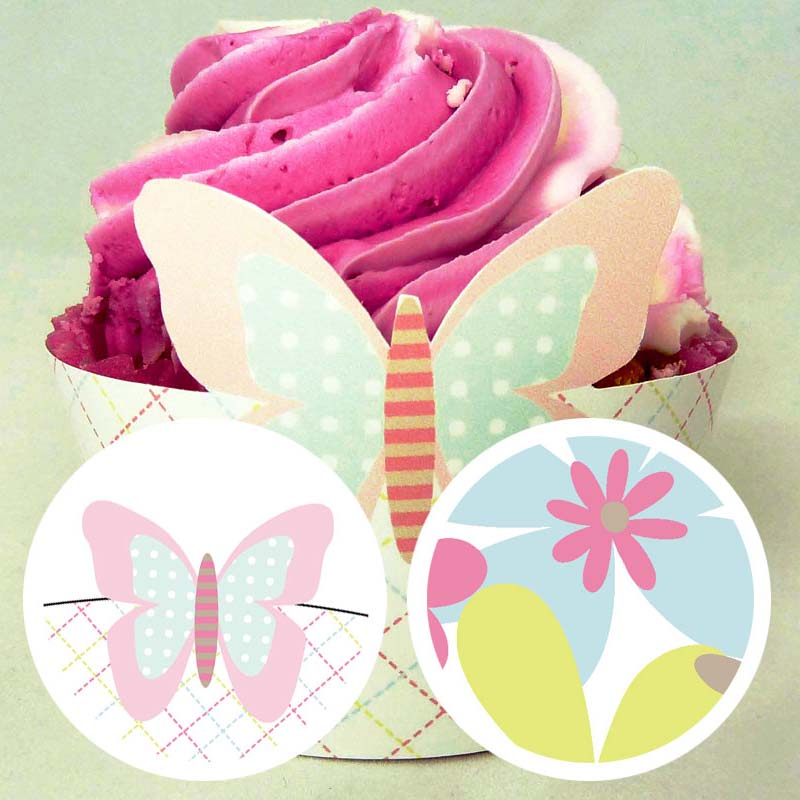 Mother's Day Cupcake Wrapper 4