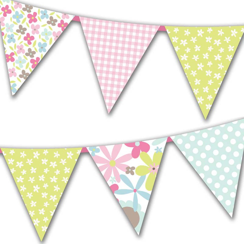 Free Printable Mother's Day Flag Bunting