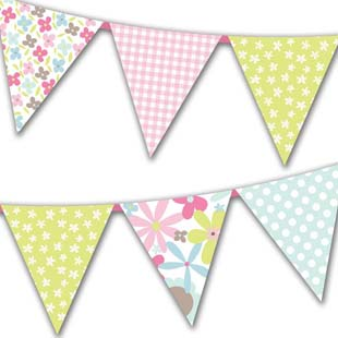 Mother's Day Flag Bunting