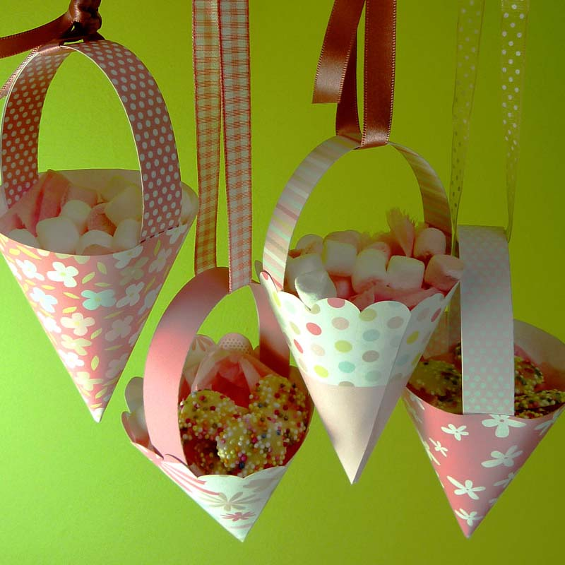 Mother's Day Hanging Cones