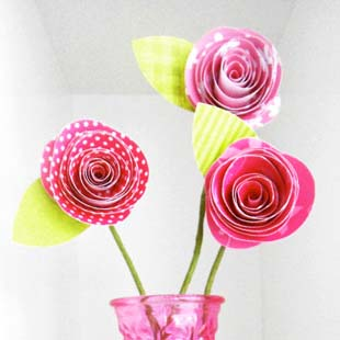 Mother's Day Paper Flowers