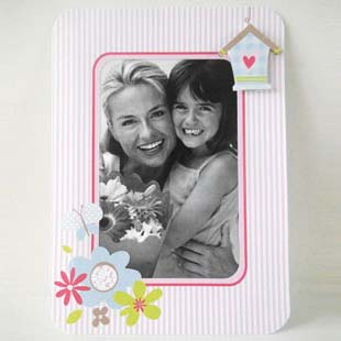 Mother's Day Vertical Photo Frame