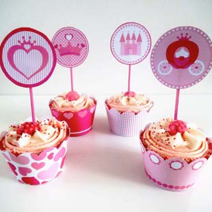 Princess Party Cupcake