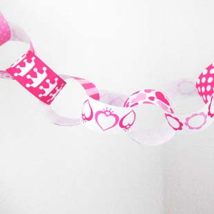 Princess Party Paper Chain