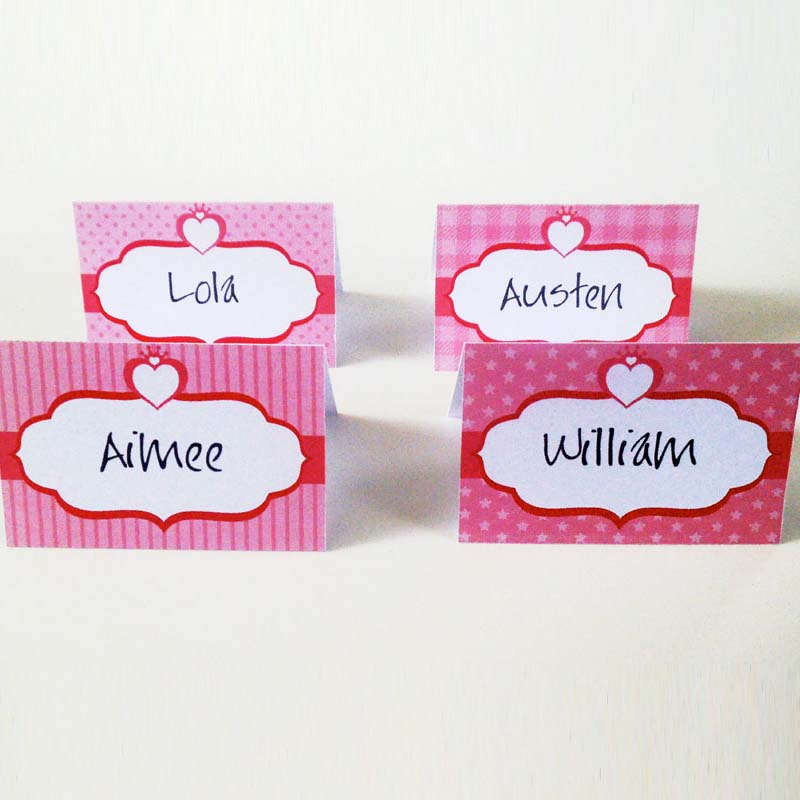 Free Printable Princess Party Place Cards Creative Center - Place card printing template