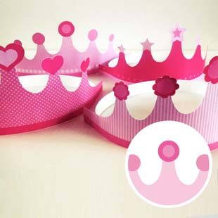 Princess Party Tiara (marble)