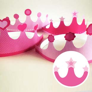 Princess Party Tiara (star)