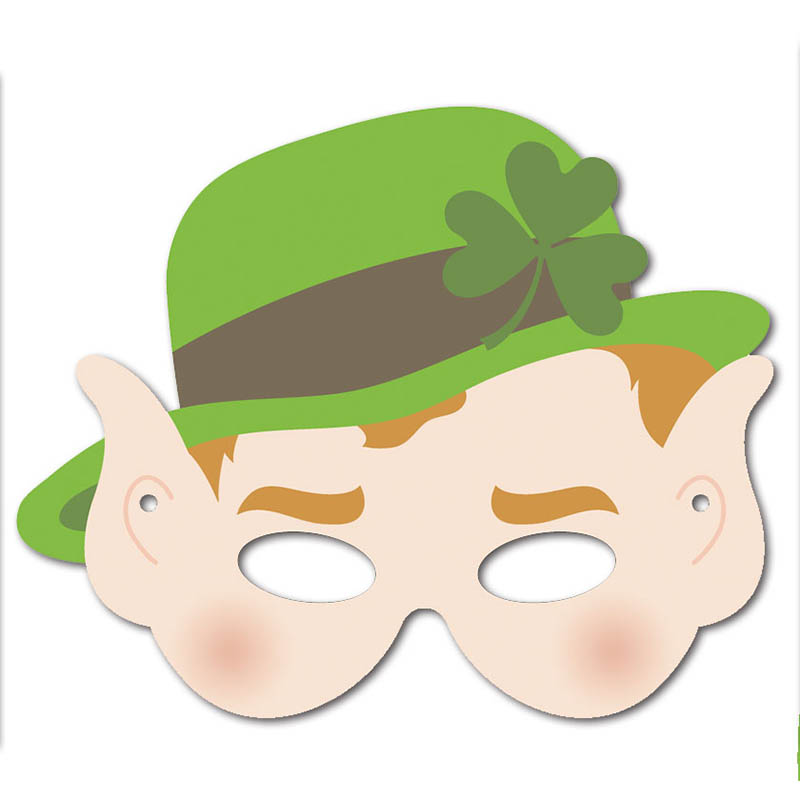 Free Printable Leprechaun Mask 1 Creative Center