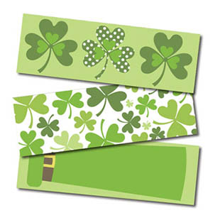 St. Pat's Day Stickers