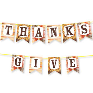 Give Thanks Bunting