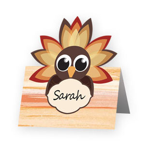 Turkey Place Card