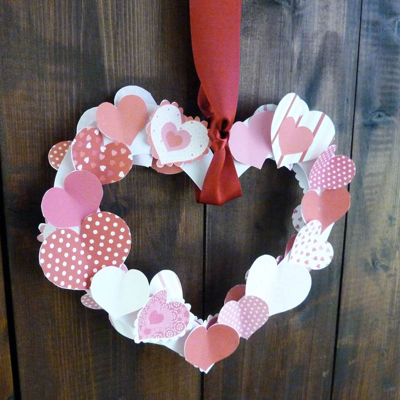 graphic regarding Printable Valentines Hearts identify Absolutely free Printable Valentine Centre Wreath Innovative Middle